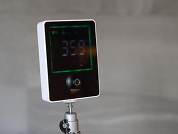 自動検温システム導入